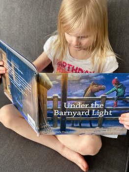 Under the Barnyard Light atGona's Reading Ranch