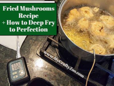 Deep Frying Mushrooms Recipe