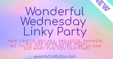 Wonderful Wednesday Weekly Linky Party