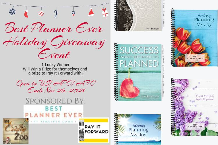 Best Planner Ever Giveaway Event